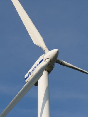 Wind turbine. Photo courtesy Wikimedia Commons